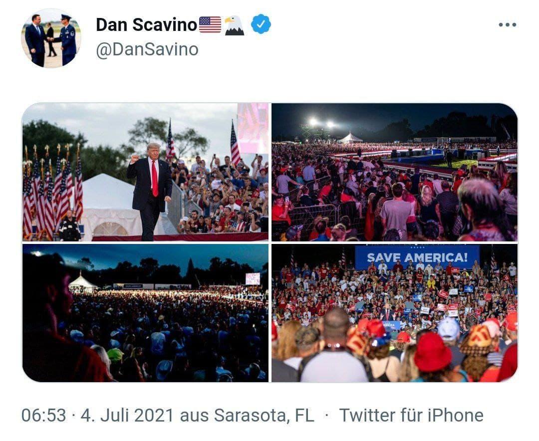DAN SCAVINO - 4.7.21 - Trump Rally 1776