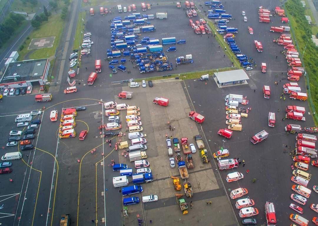 Nürburgring - 17.07.2021 Zurückhalten der Einsatzkräfte durch die Regierung?