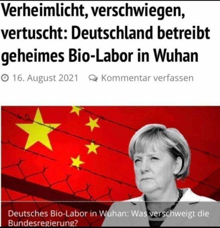Deutschland betreibt geheimes Labor in Wuhan?