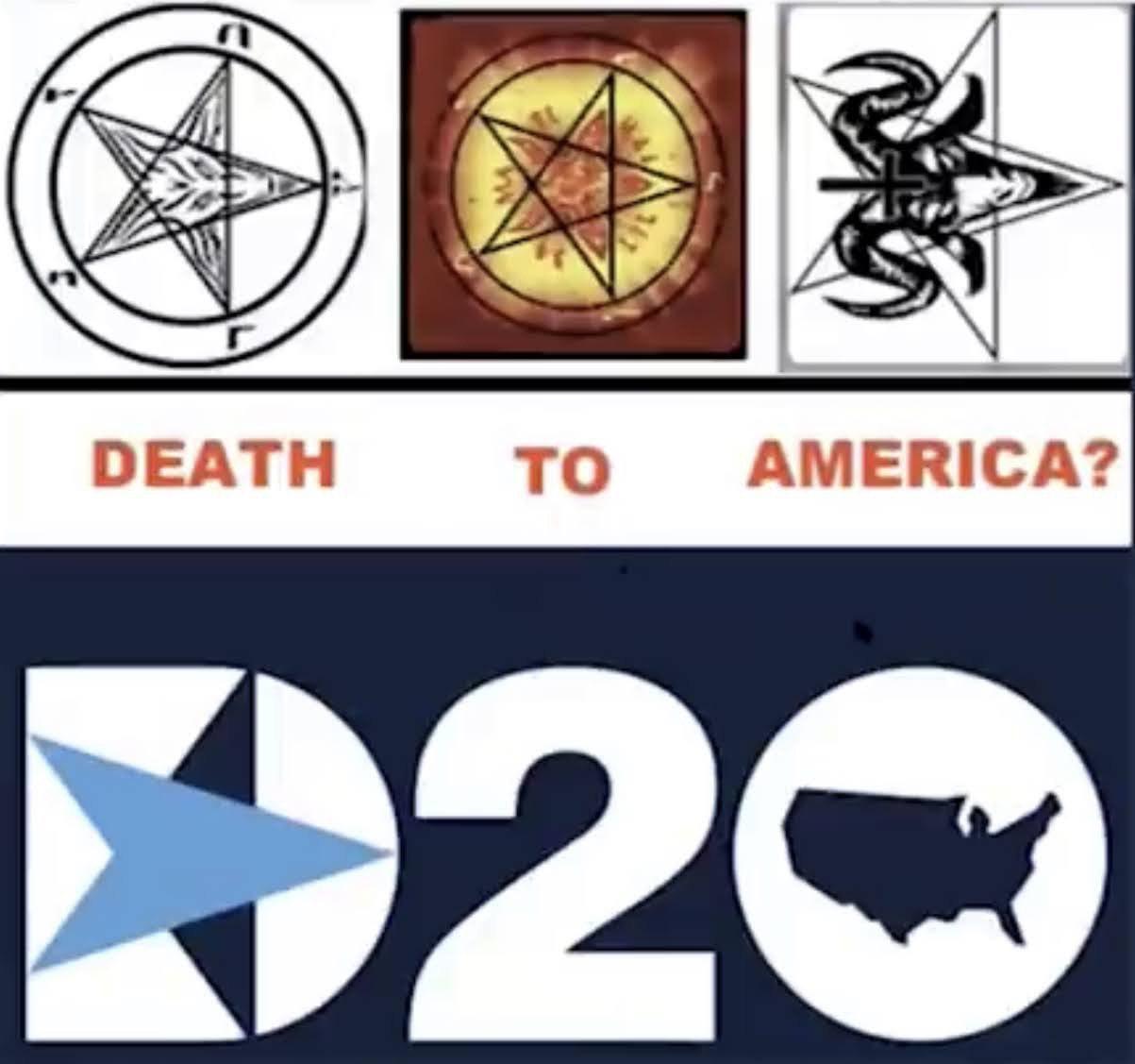 US-Demokraten - Satan-Symbol?