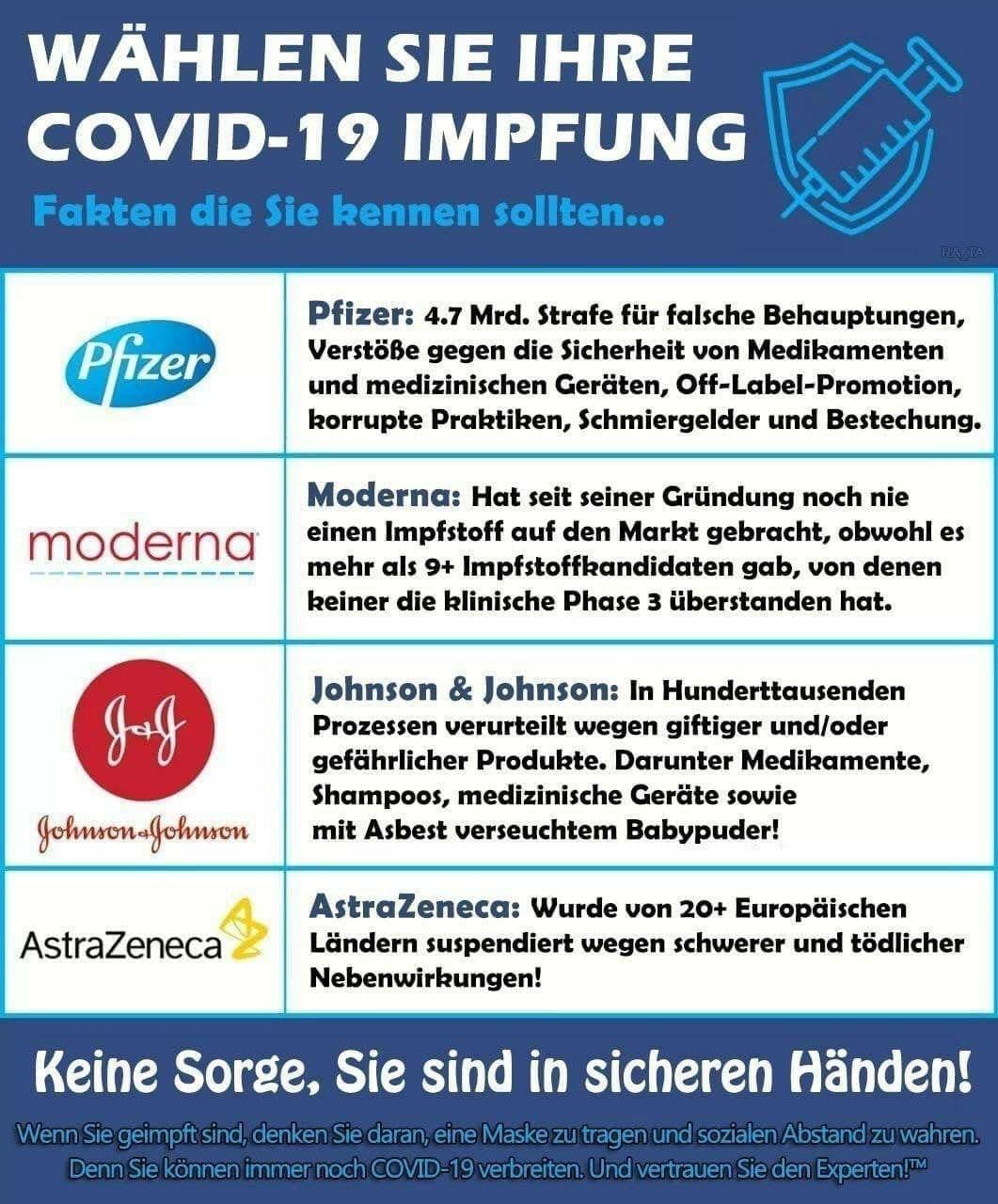 Wählen Sie Ihre COVID-Impfung!