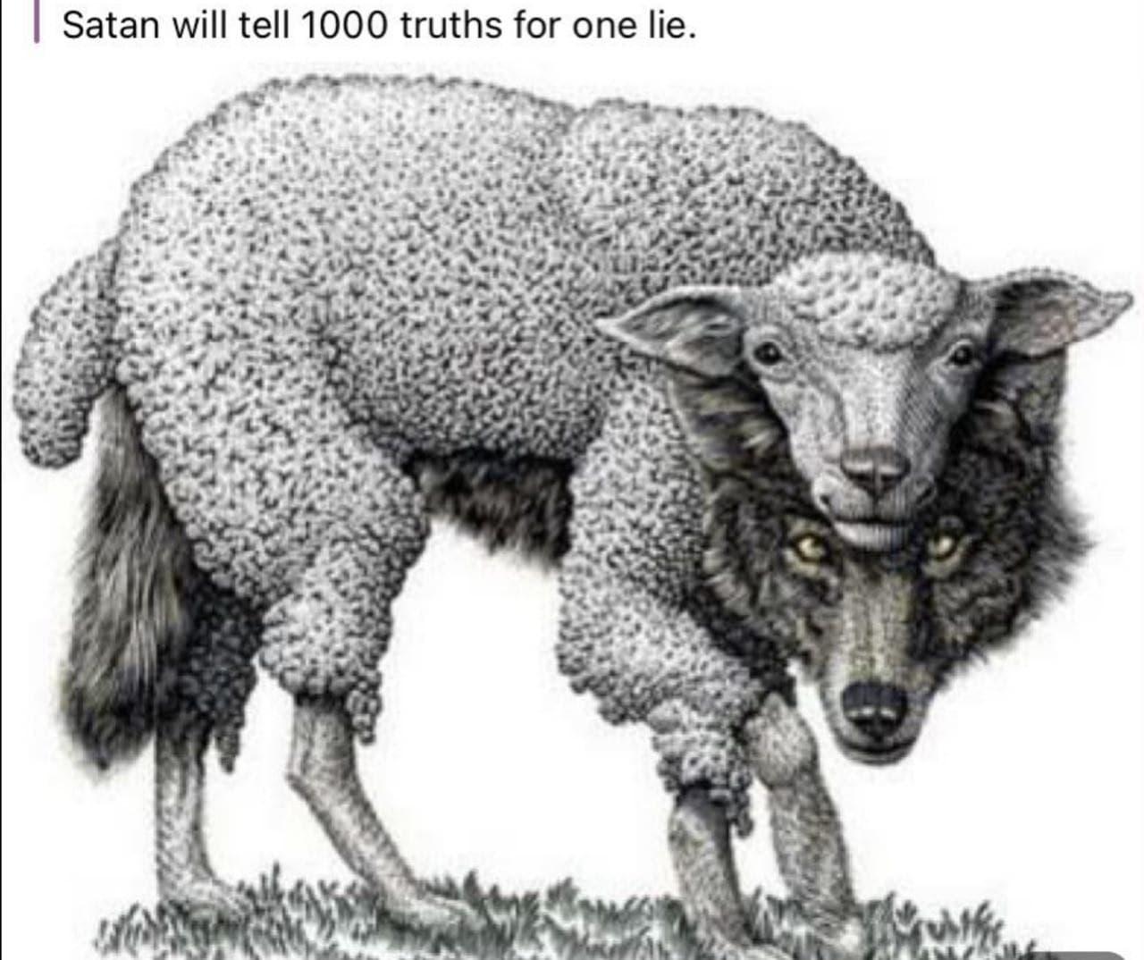 SATAN WIRD DIR 1000 x die Wahrheit für eine Lüge sagen!