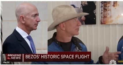 Das ist nicht Jeff Bezos! (Ex-CEO Amazon)