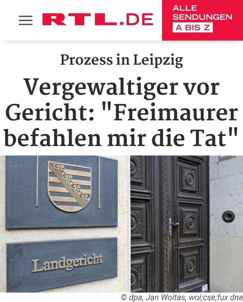 Pädophilie Freimaurer: Alles kommt in kleinem kleinen Schritten ans Licht der Wahrheit...(Leipzig)