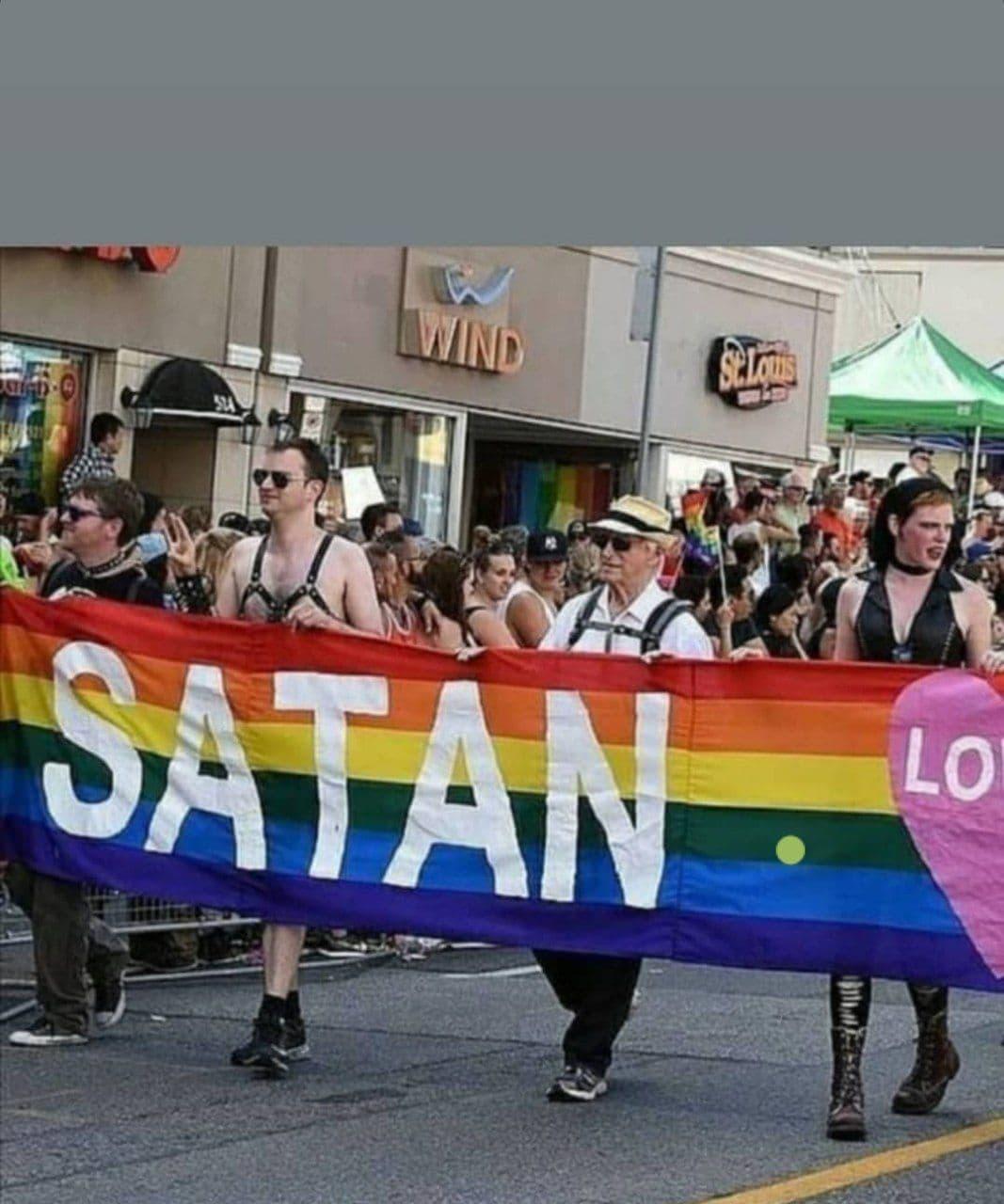 LGBT = Satan?