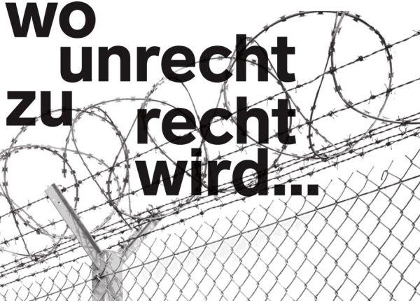 Bertold Brecht: Wenn Recht zu Unrecht wird...