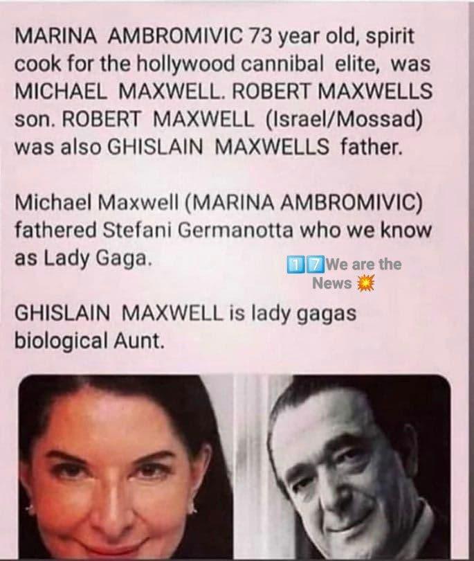 Ist Marina Ambromivic die Tante von Lady Gaga?