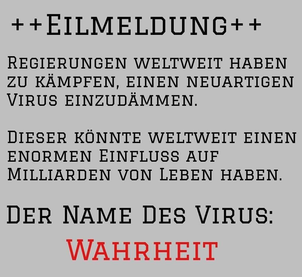 EILMELDUNG: Der Name des Virus
