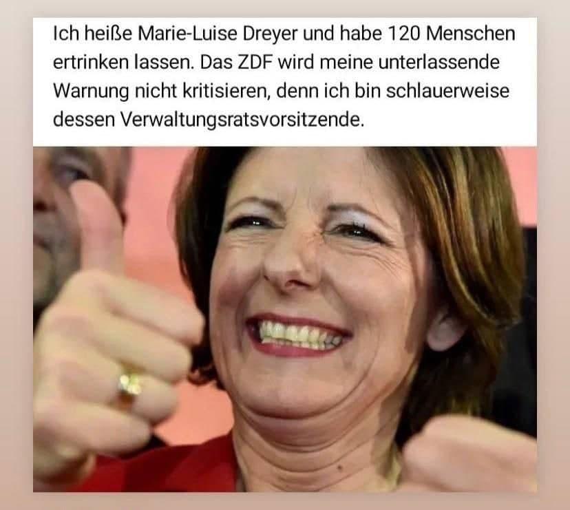 Ich heisse Marie-Luise Dreyer...