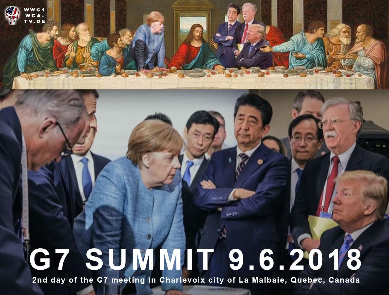 G7 Treffen in Kanada - 9.6.2018 ohne Russland