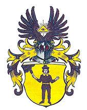 Günter Jauch's Familie hat ein eigenes uraltes Jesuiten Wappen