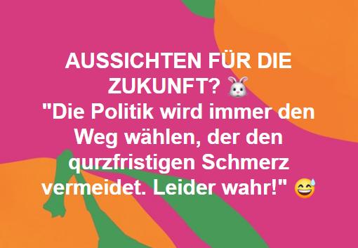 AUSSICHTEN FÜR DIE ZUKUNFT?