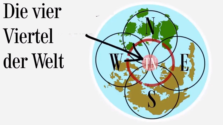 Die 4 Viertel der Welt
