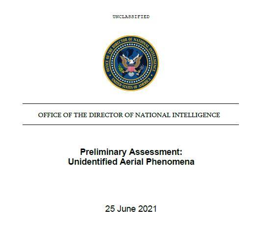 25.06.2021 - UFO-Bericht veröffentlicht (Download)