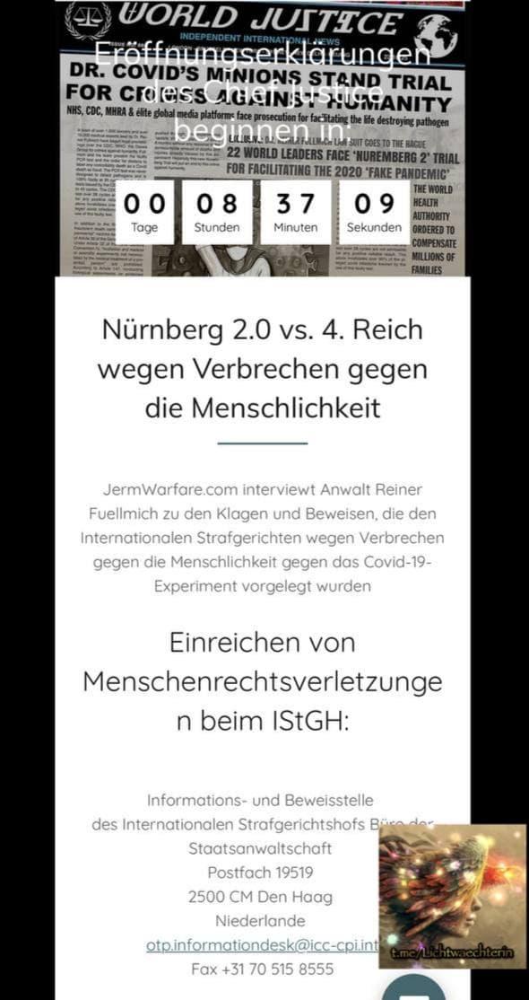 Es ist so weit! Die Nürnberger Prozesse in Den Haag beginnen