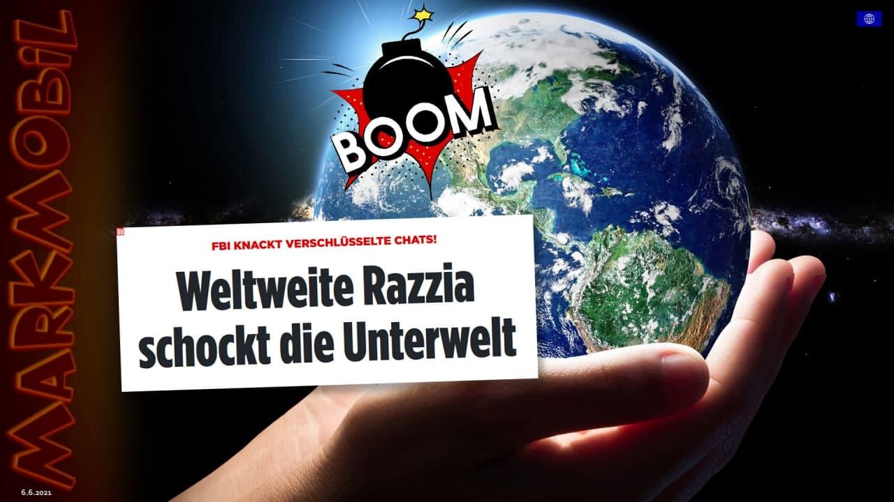 MARK MOBIL: Kryptochat-Netzwerk 'ANOM' geknackt!