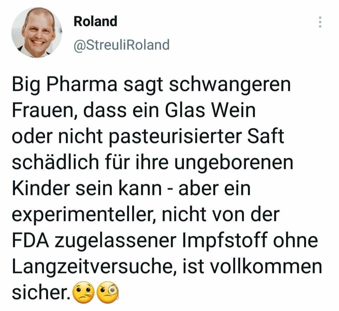 """""""Sicher"""" im Sinne der Gewinnaussichten für Big Pharma - dann stimmt es wieder. ;-)"""