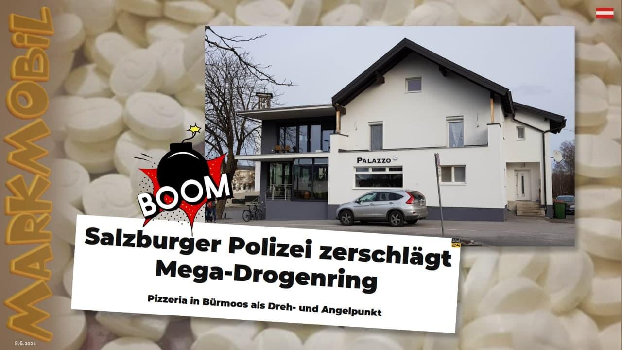 MARK MOBIL: Salzburger Polizei zerschlägt Mega-Drogenring