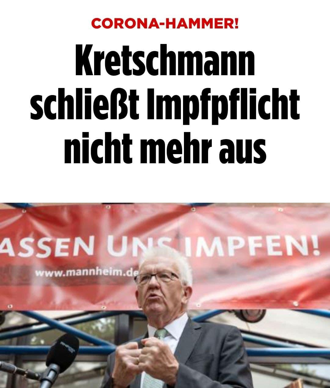 Kretschmann schließt Impfpflicht nicht mehr aus - Bild (https://twitter.com/BILD/status/1419201860230131715?s=19)