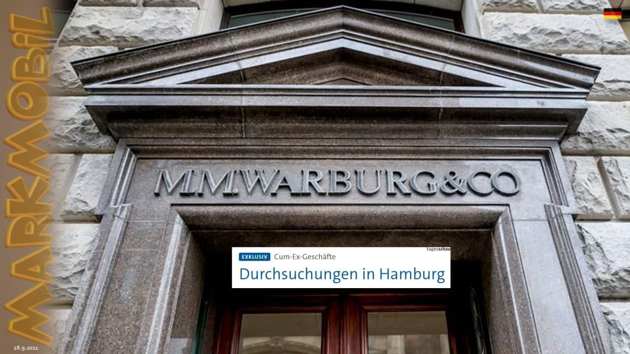 MARKmobil: Razzia beim Finanzamt und im Finanzministerium der Hansestadt Hamburg, sowie bei Politikern